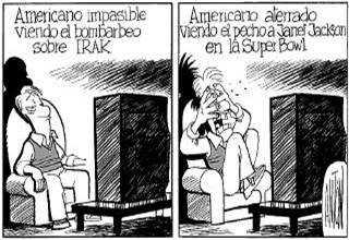 La doble moral americana