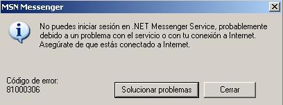 Caida del MSN
